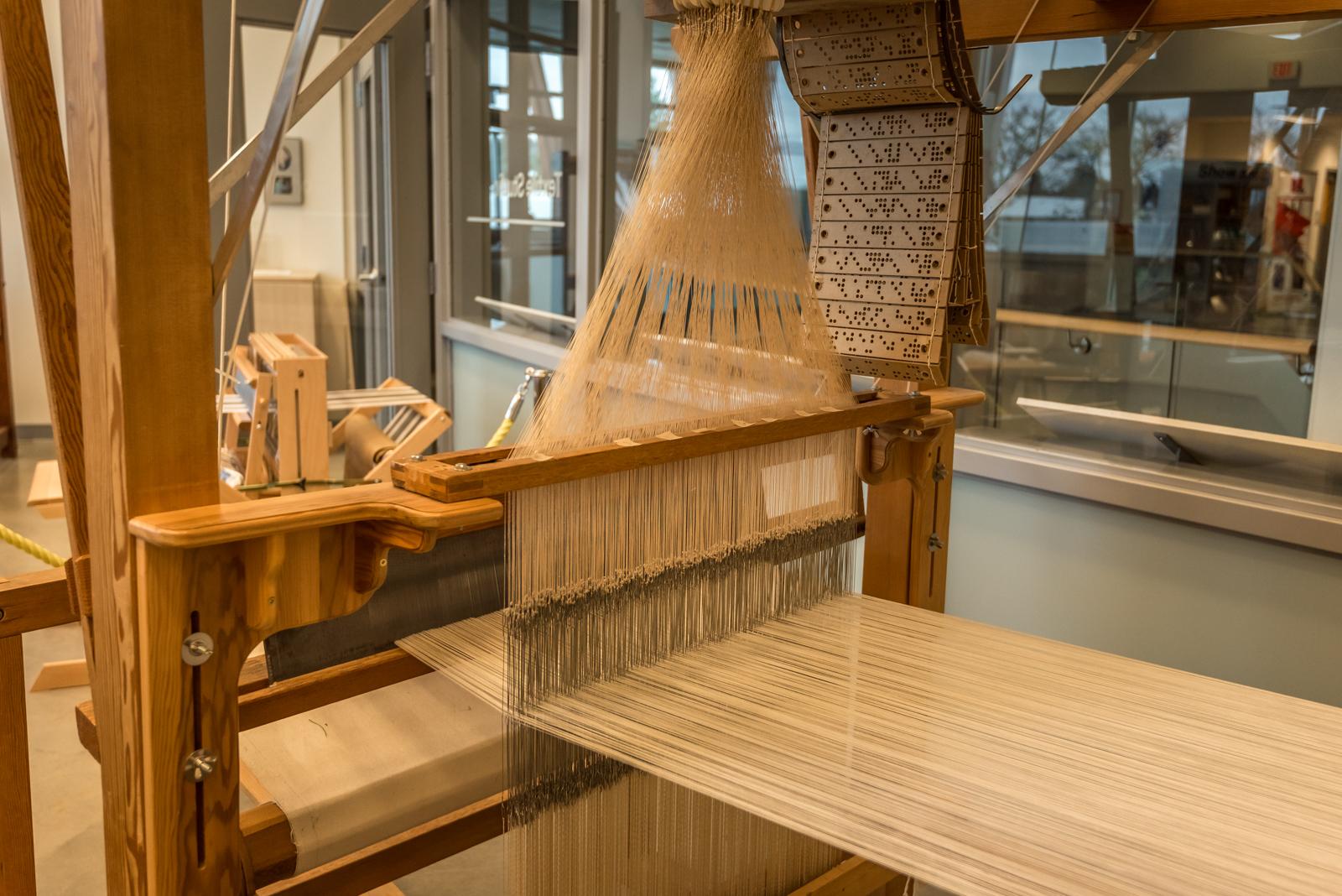 Inside the Honey Hooser Textile Centre