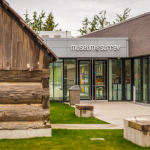 Exterior of the Museum of Surrey