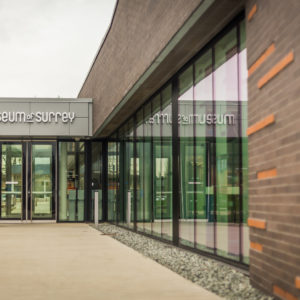 Exterior view of the Museum of Surrey