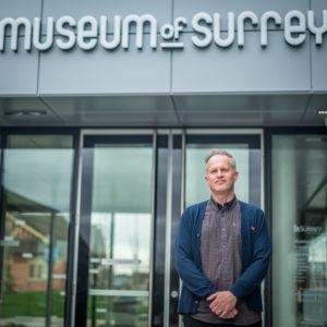 Museum of Surrey manager, Lynn Saffery