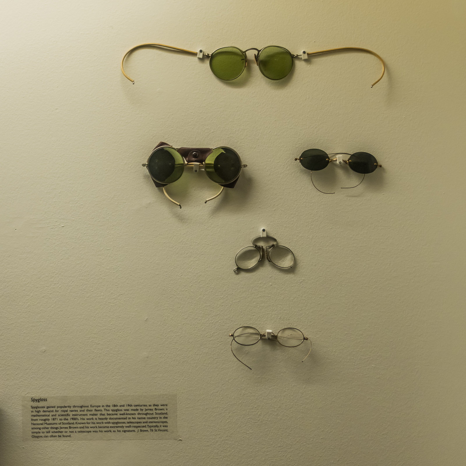 Seeing eye glasses from the collection