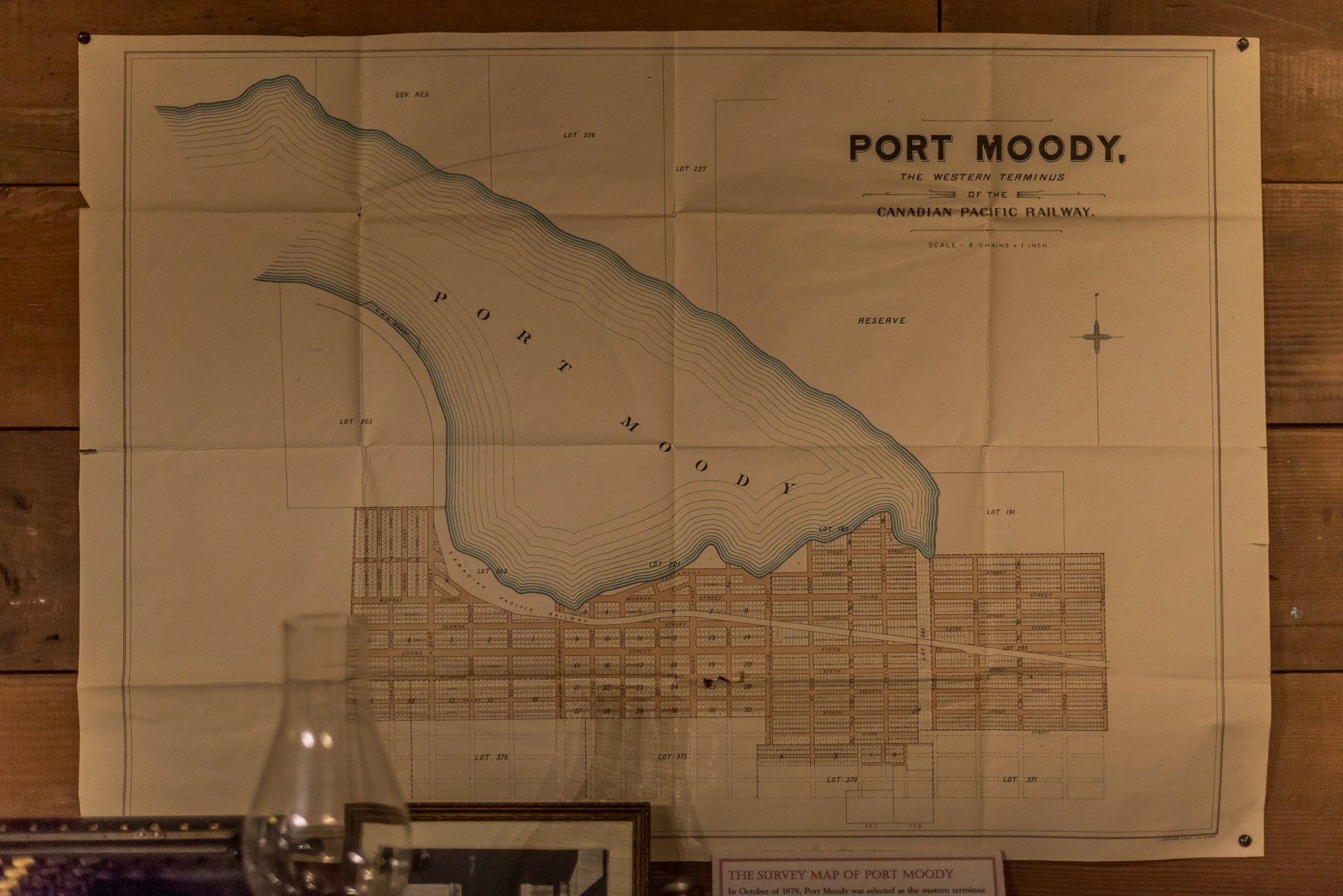 Street map of Port Moody