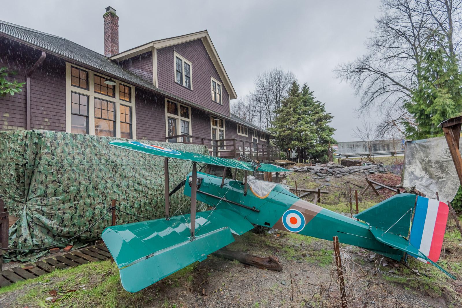 SE5A replica biplane