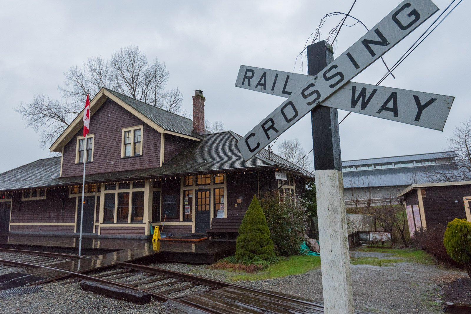 Exterior of Port Moody Station Museum