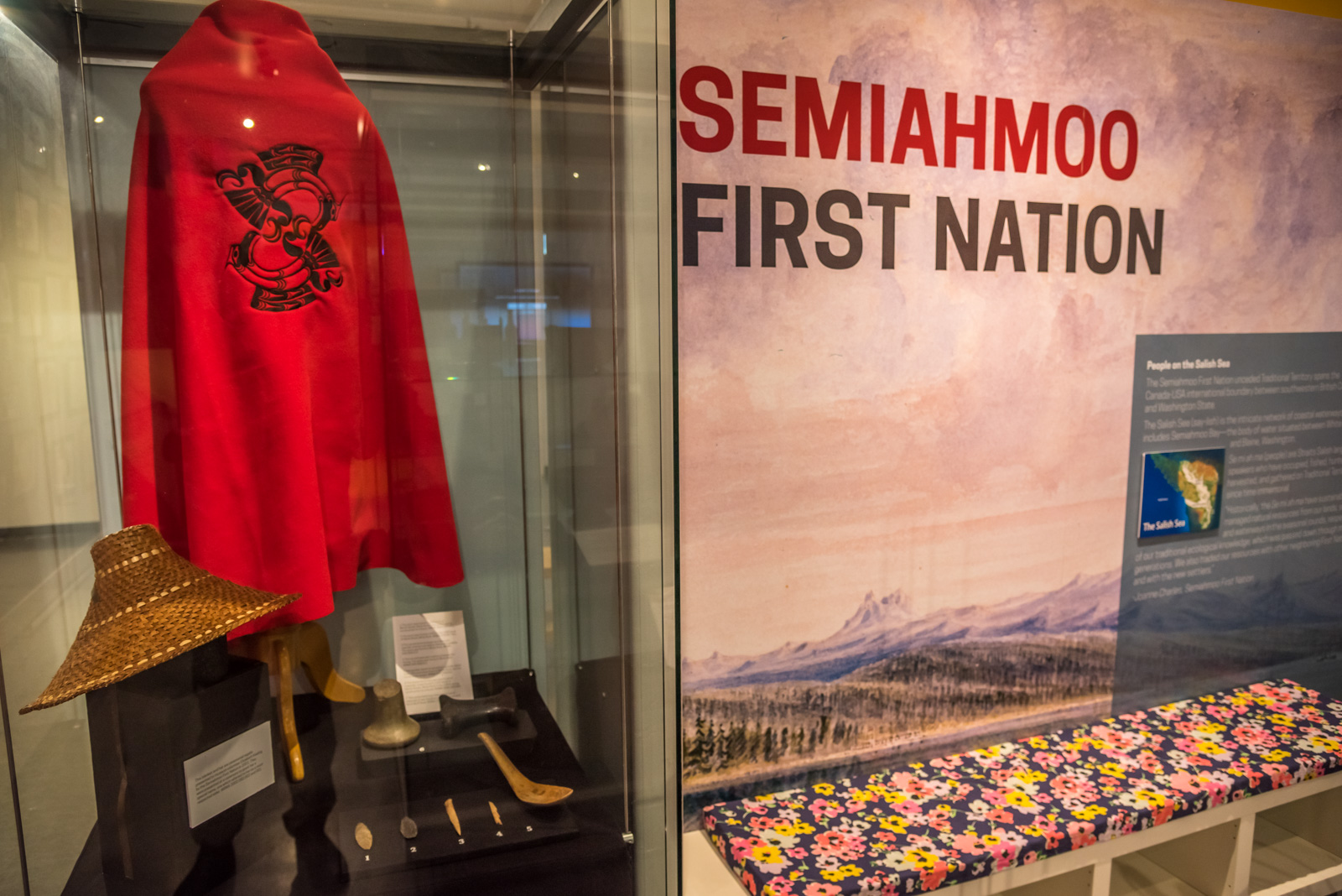 Semiahmoo First Nation display