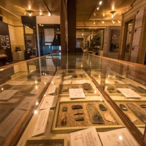 Interior of Mission Museum