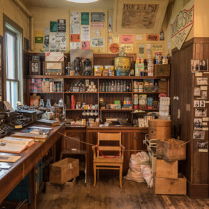 Interior of the Old General Store