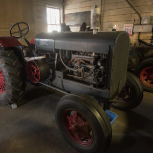 Tractor housed in Hoffman & Son shop