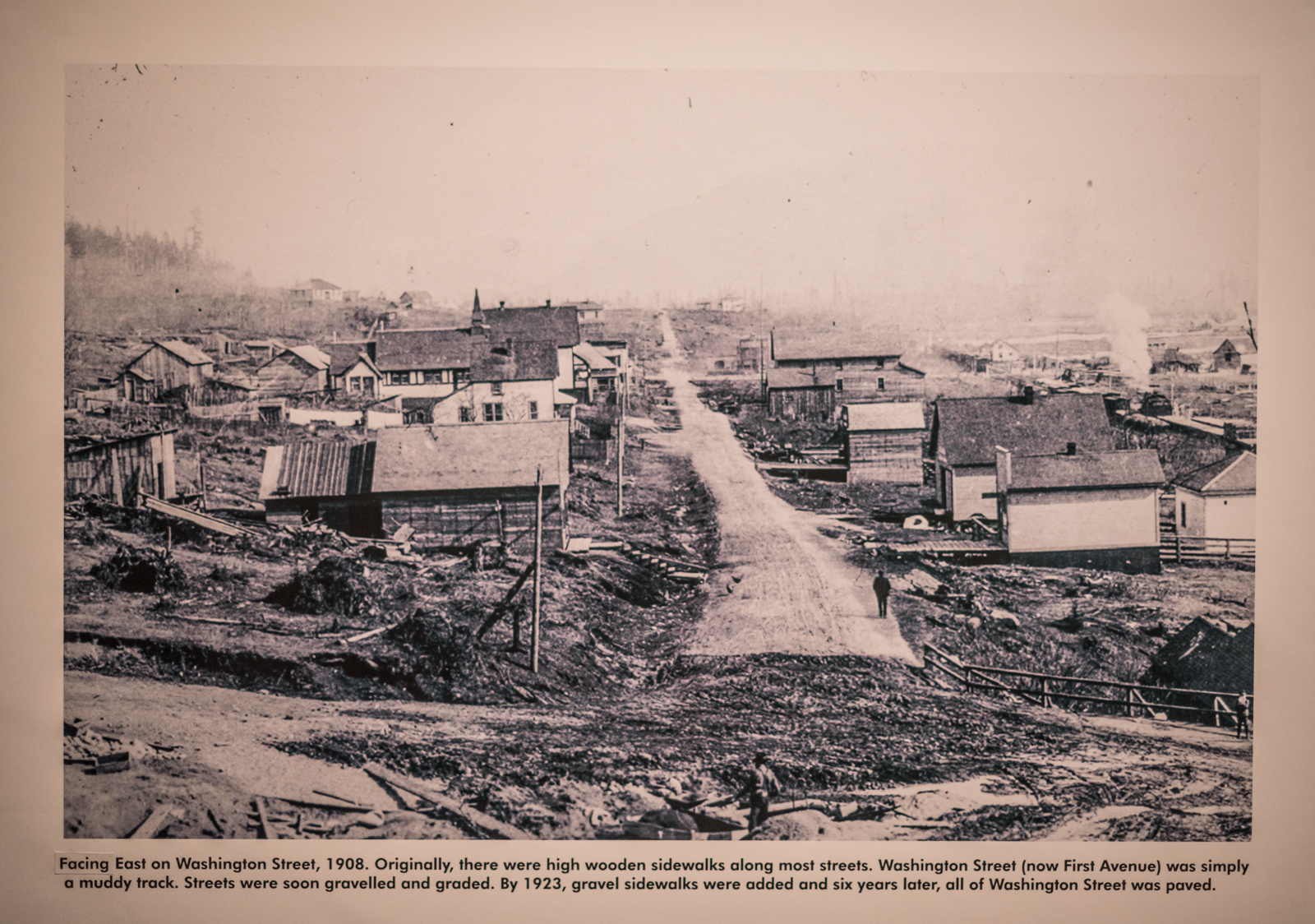 An early photograph of Mission