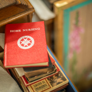 Booklet on home nursing from the museum's collection