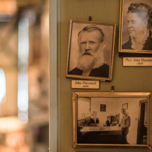 Portraits of John and Amanda Hammond