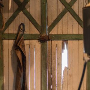 Interior of Hoffman & Son shop
